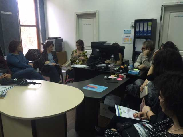 6th of March Tirana. Meeting at Municipal Social Servicies