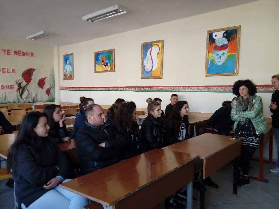 Elbasan In the Classroom